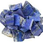 mookaitedecor Lapislazuli Rohstück Steine, Mineral Edelsteine für Familie/Büro/Garten/Aquarium Dekoration Schmückung, Kristall Reiki & Heilung (460g)